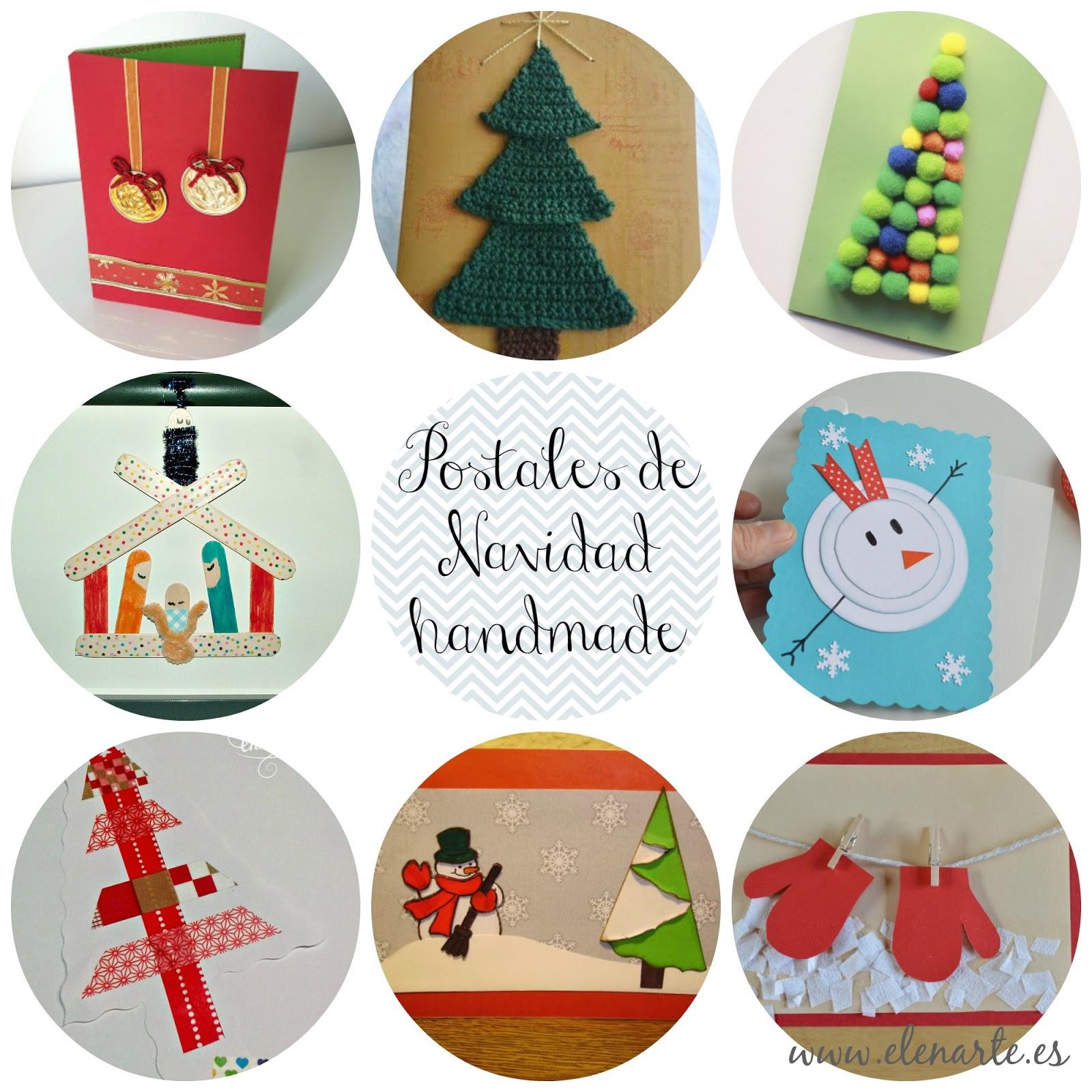Navidad handmade - Manualidades tarjetas de navidad ...