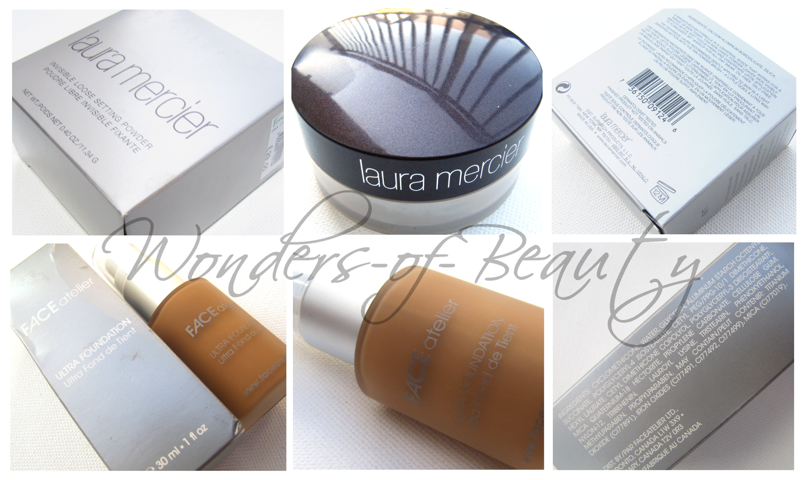 What's New: Laura Mercier Invisible Loose Setting Powder and Face Atelier