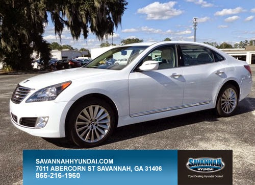 2015 Hyundai Equus, New, Sedan, Savannah, GA, luxury