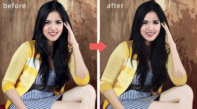 gambar raisa before dan after