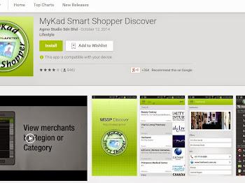 MyKad Smart Shopper Di Dalam Aplikasi Telefon Mudah Alih (Mobile Phone)?