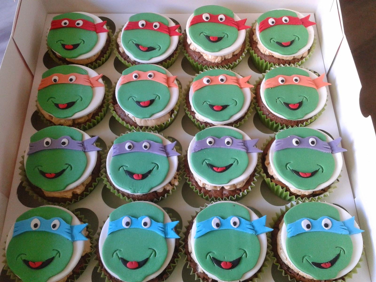 Cupcakes tenerife tarta y cupcakes tortugas ninja - Cupcakes tenerife ...