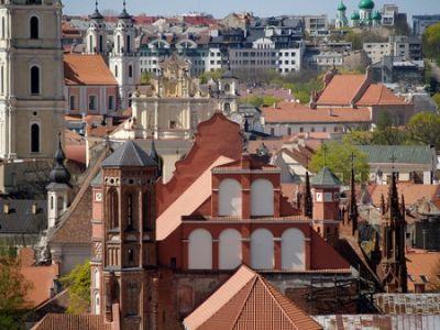 LA BELLEZA DE LA CAPITAL DE LITUANIA-