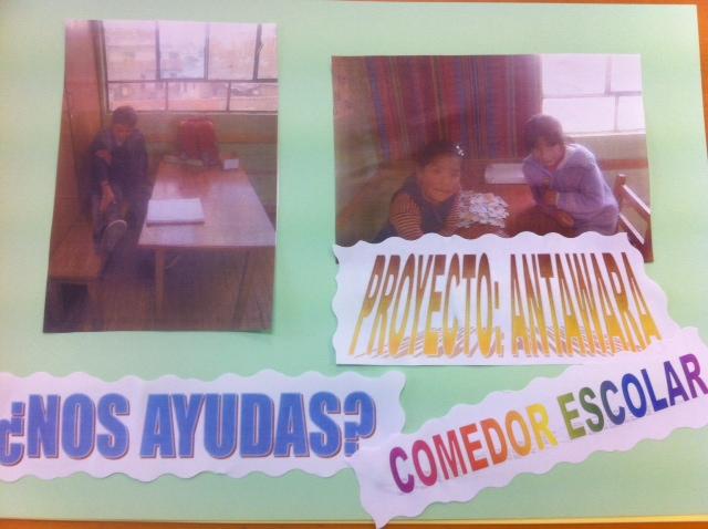 ONGD SAL BILBAO: PROYECTO DEL AÑO, COMEDOR ESCOLAR ANTAWARA (BOLIVIA)