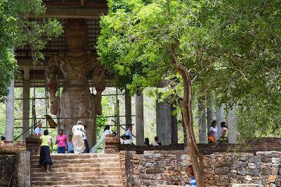 Statue of the Avalokitheswara Bodhisatva - Maligawila, Sri Lanka