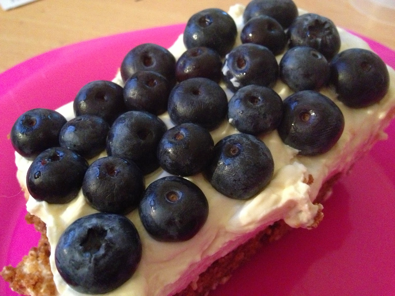 gluten free blueberry cheesecake