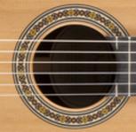 lubang suara gitar klasik