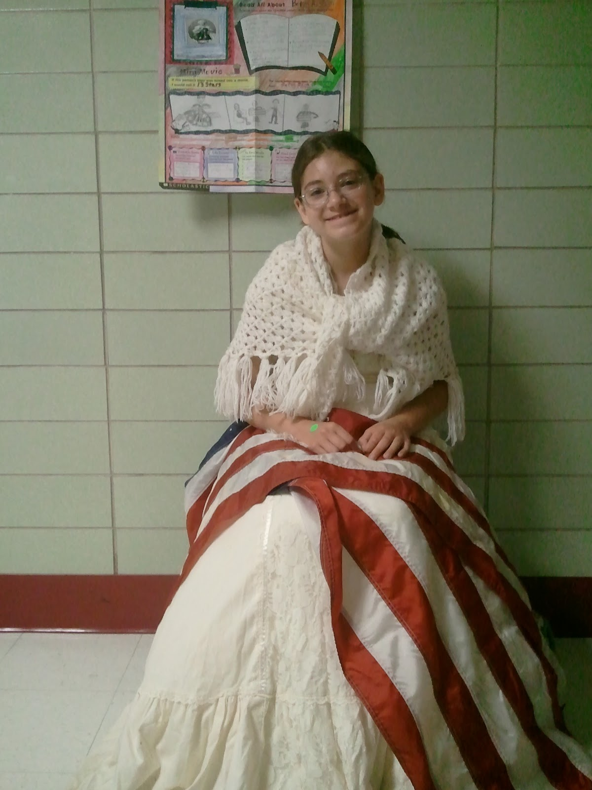 What did betsy ross wear