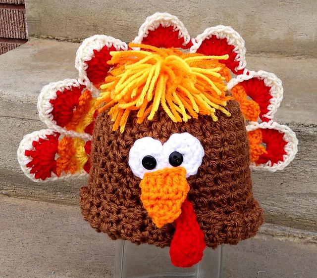 Fiber Flux: Turkeys! 14 Free and Paid Crochet Patterns...