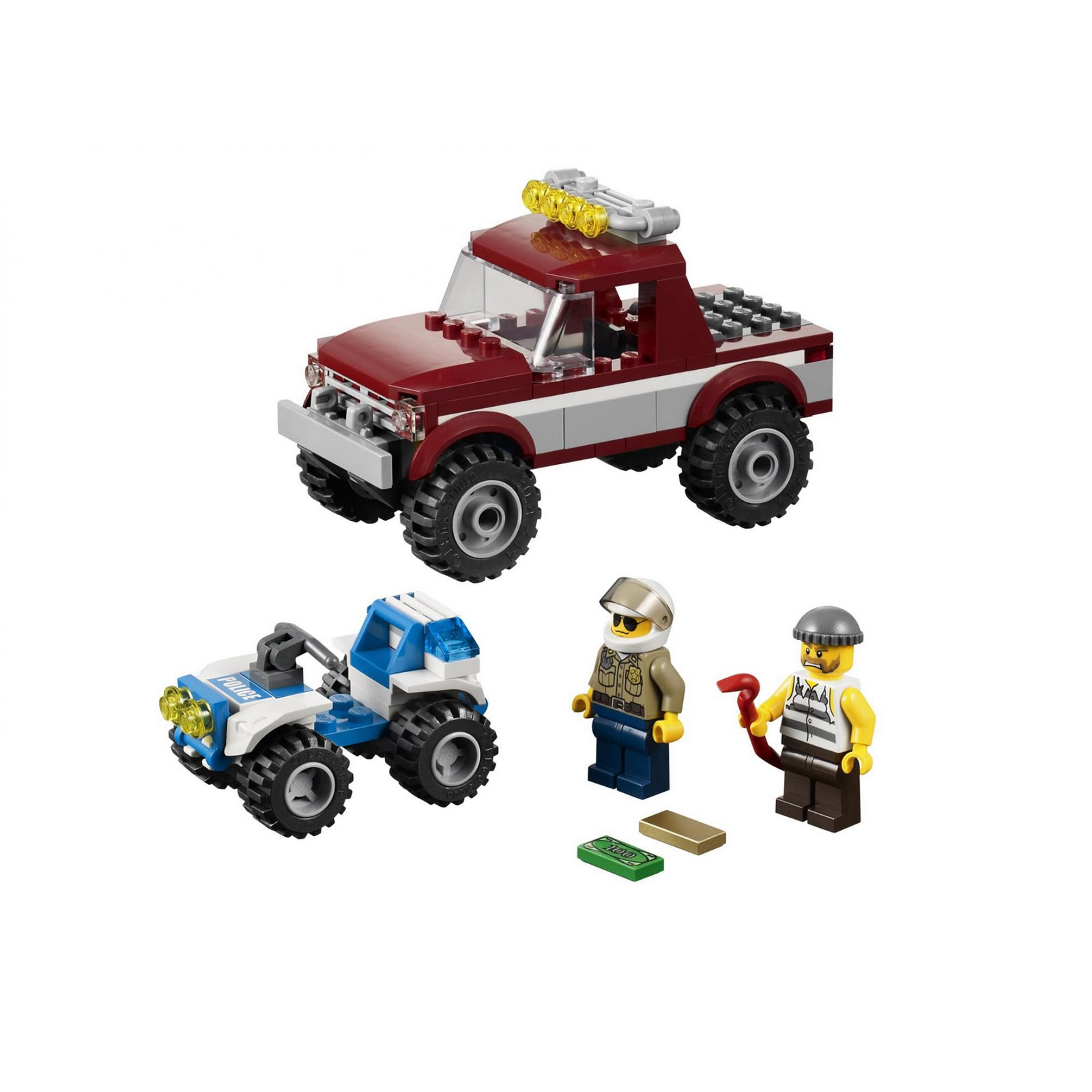 REPUBbLICk: set database: LEGO 4437 police pursuit