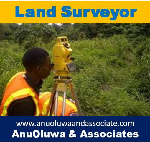 ADVERT: Contact a Land Surveyor In Ogun & Lagos State
