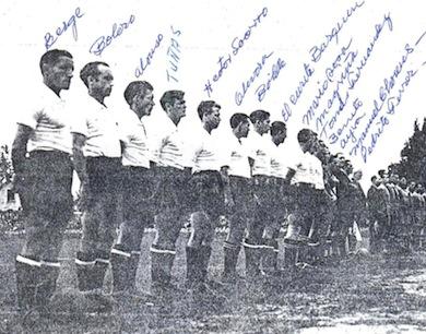 Equipo al Mundial de 1938