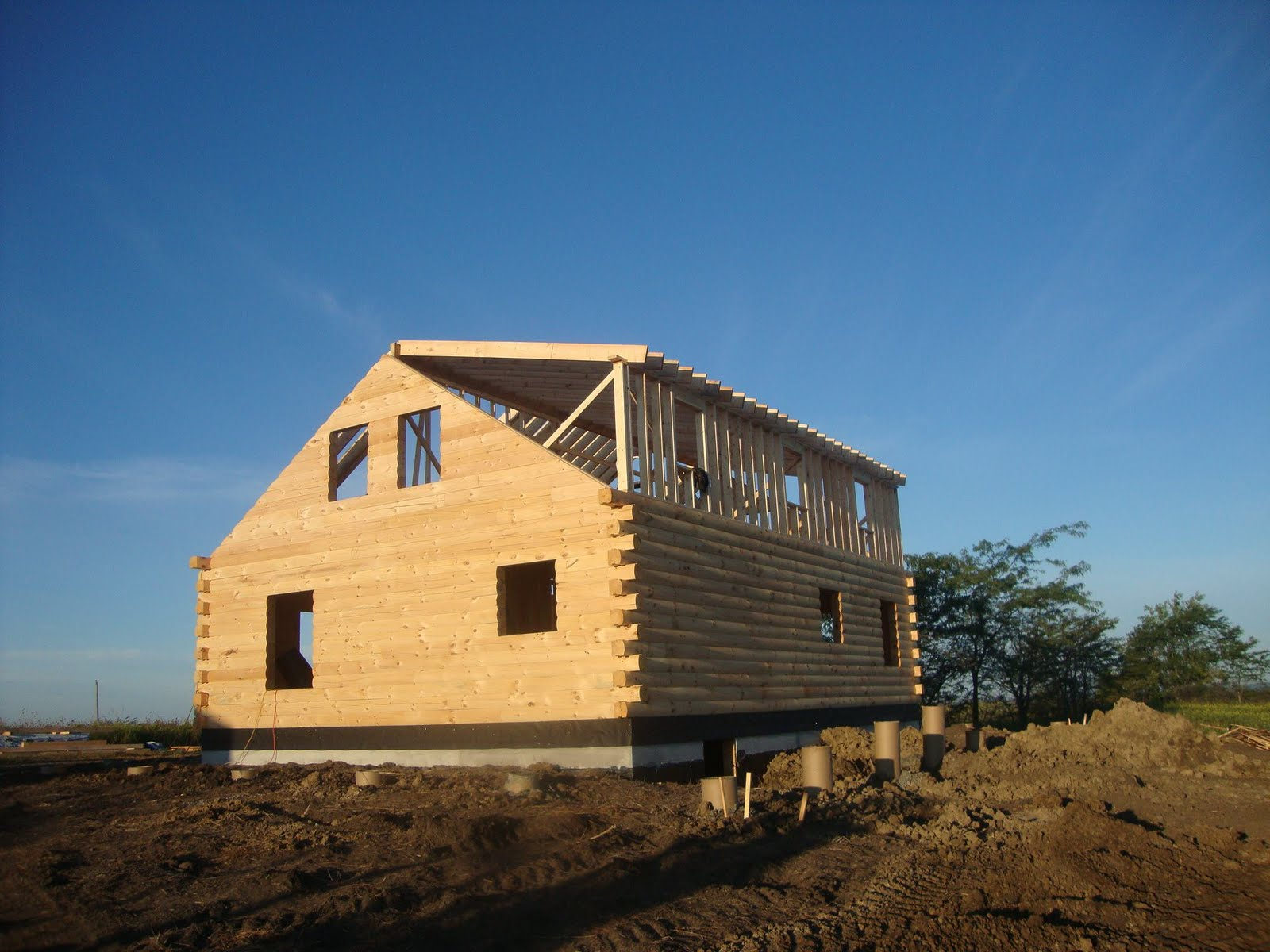 Patriot log home builders update on covnetry log homes in mo for Coventry home builders