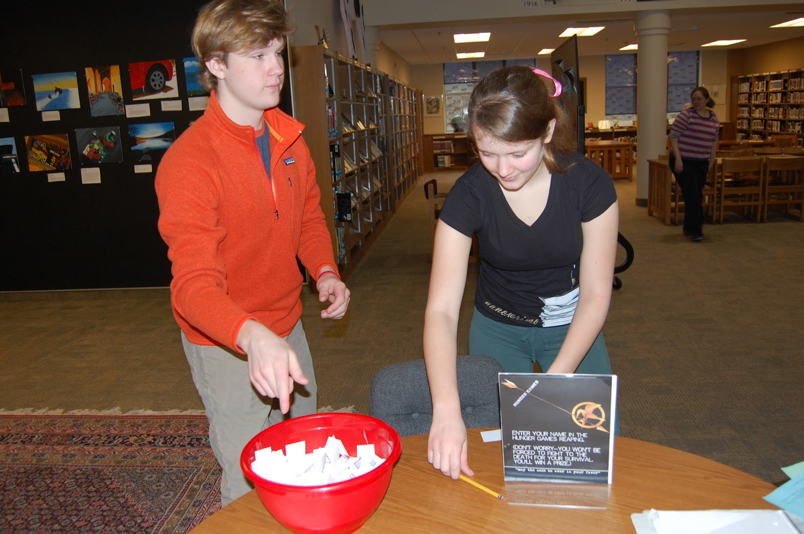School librarians have more fun april 2012 for Missouri s t dining hall hours