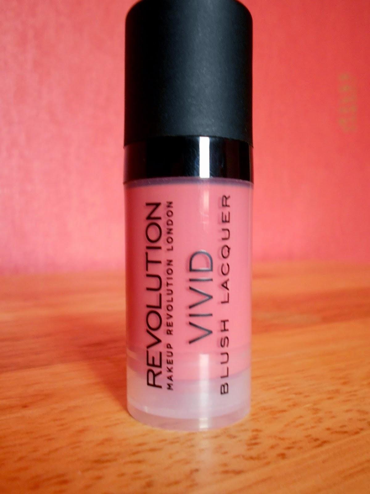 Makeup Revolution Vivid Blush Lacquer - Desire