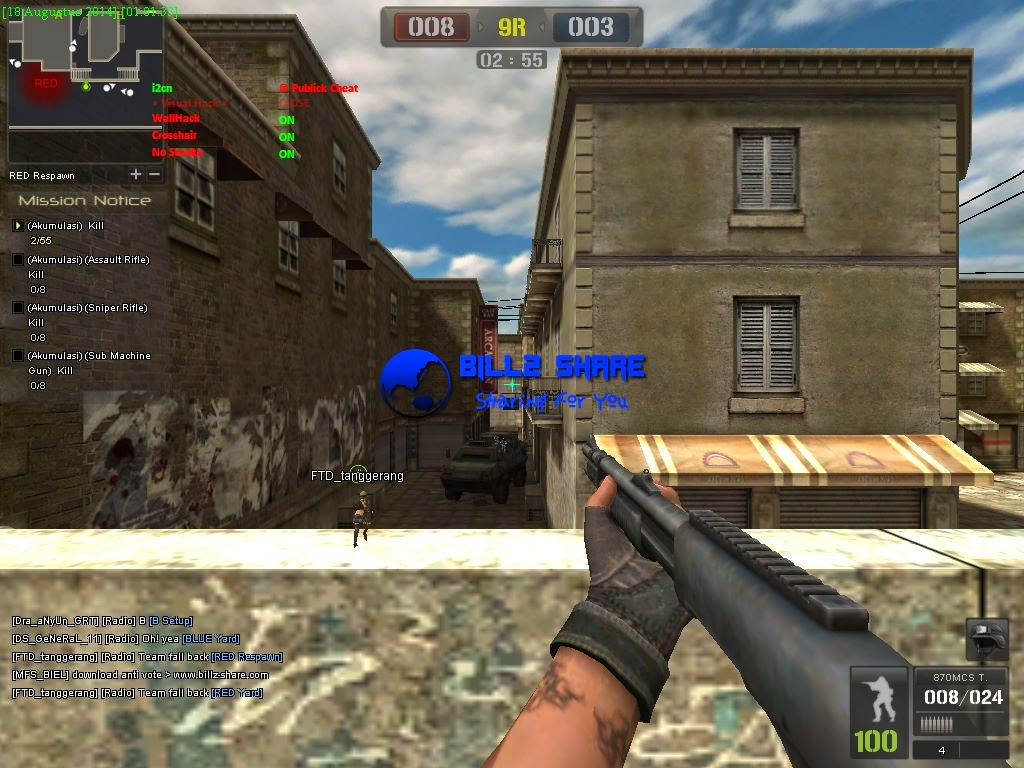 Cheat Point Blank D3D Menu 19 Agustus 2014