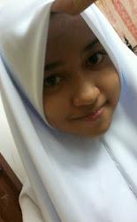 Adik Perempuan saya..(Izzah Munirah Suhaimi) ^^