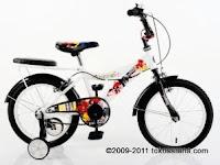 Sepeda Anak UNITED DC SUPERFRIENDS CITY