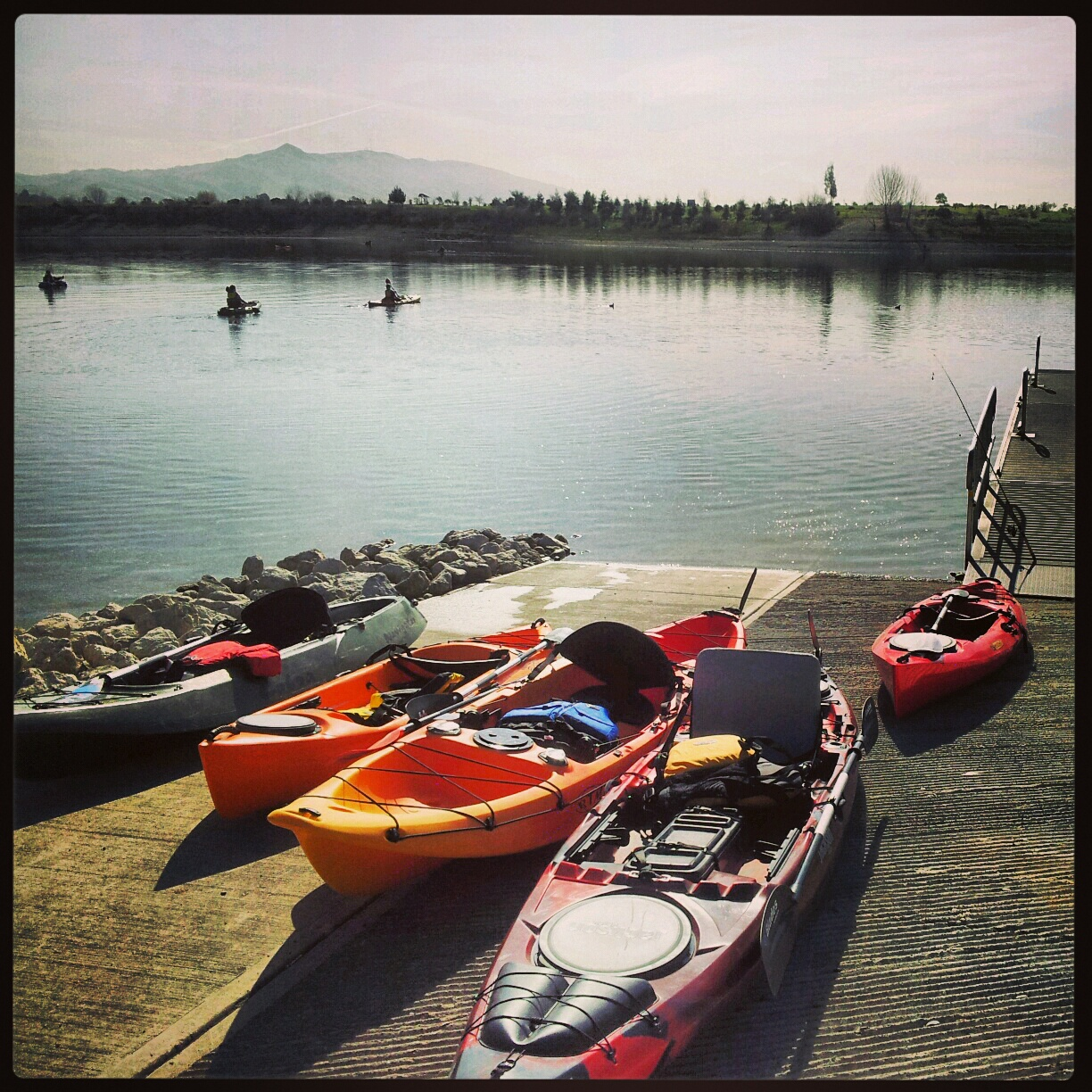 Kayaking the california delta heroes on the water for Quarry lakes fishing