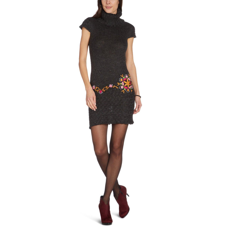 bekleidung desigual damen kleid knielang 28v2071. Black Bedroom Furniture Sets. Home Design Ideas