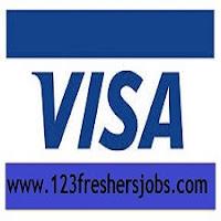 VISA Freshers Jobs 2015
