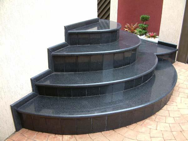 escada de jardim de inverno