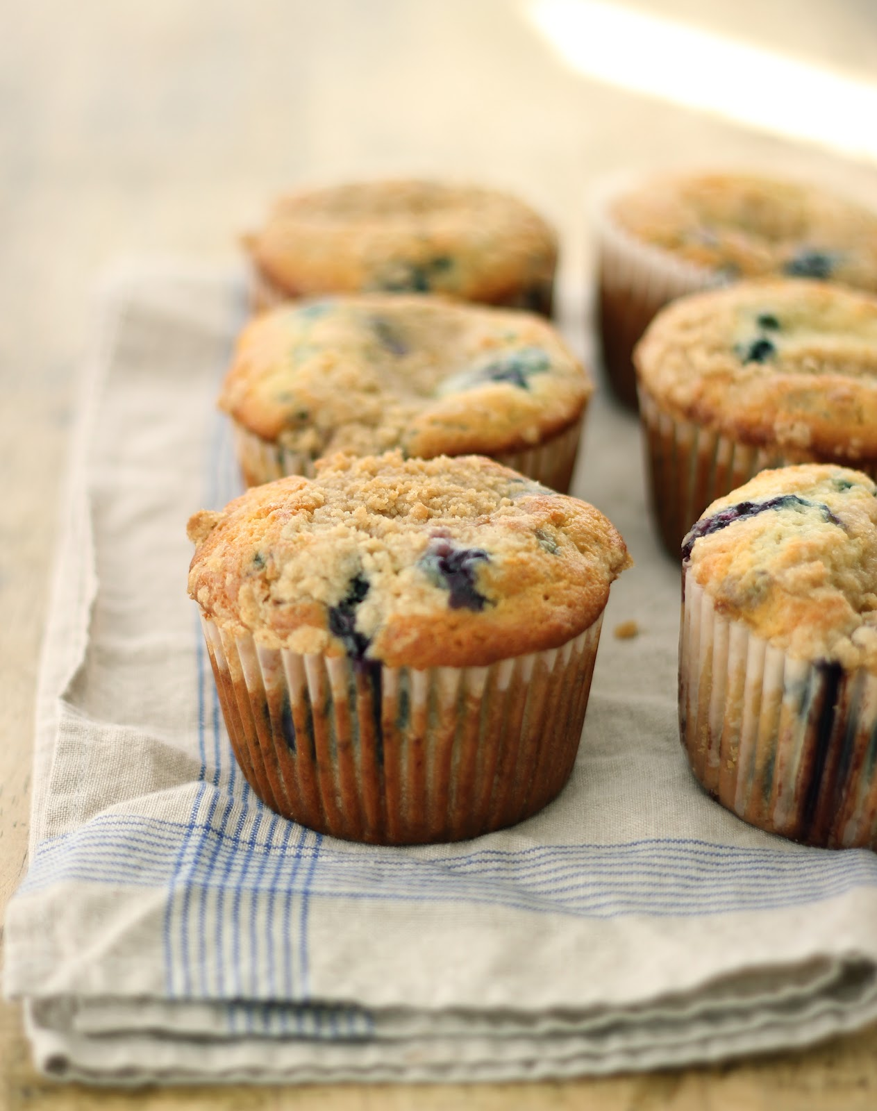 Jenny Steffens Hobick: Blueberry Crumble Muffins | What you'll be ...