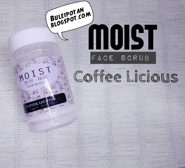 "MOIST FACE SCRUB ""COFFEE LICIOUS"""