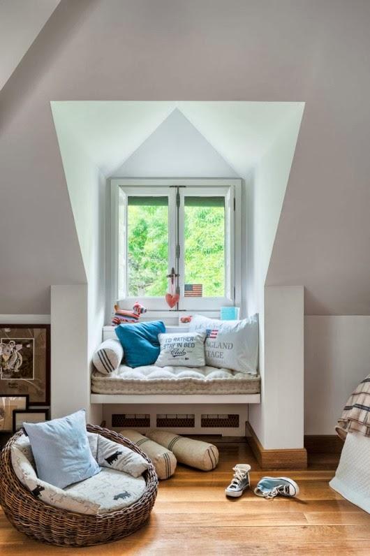 estilo british en un dormitorio juvenil