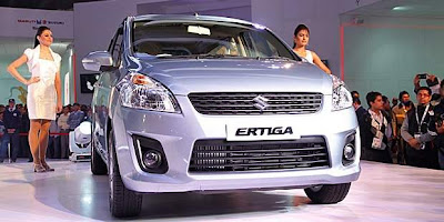 2012 Maruti Suzuki Ertiga India review price