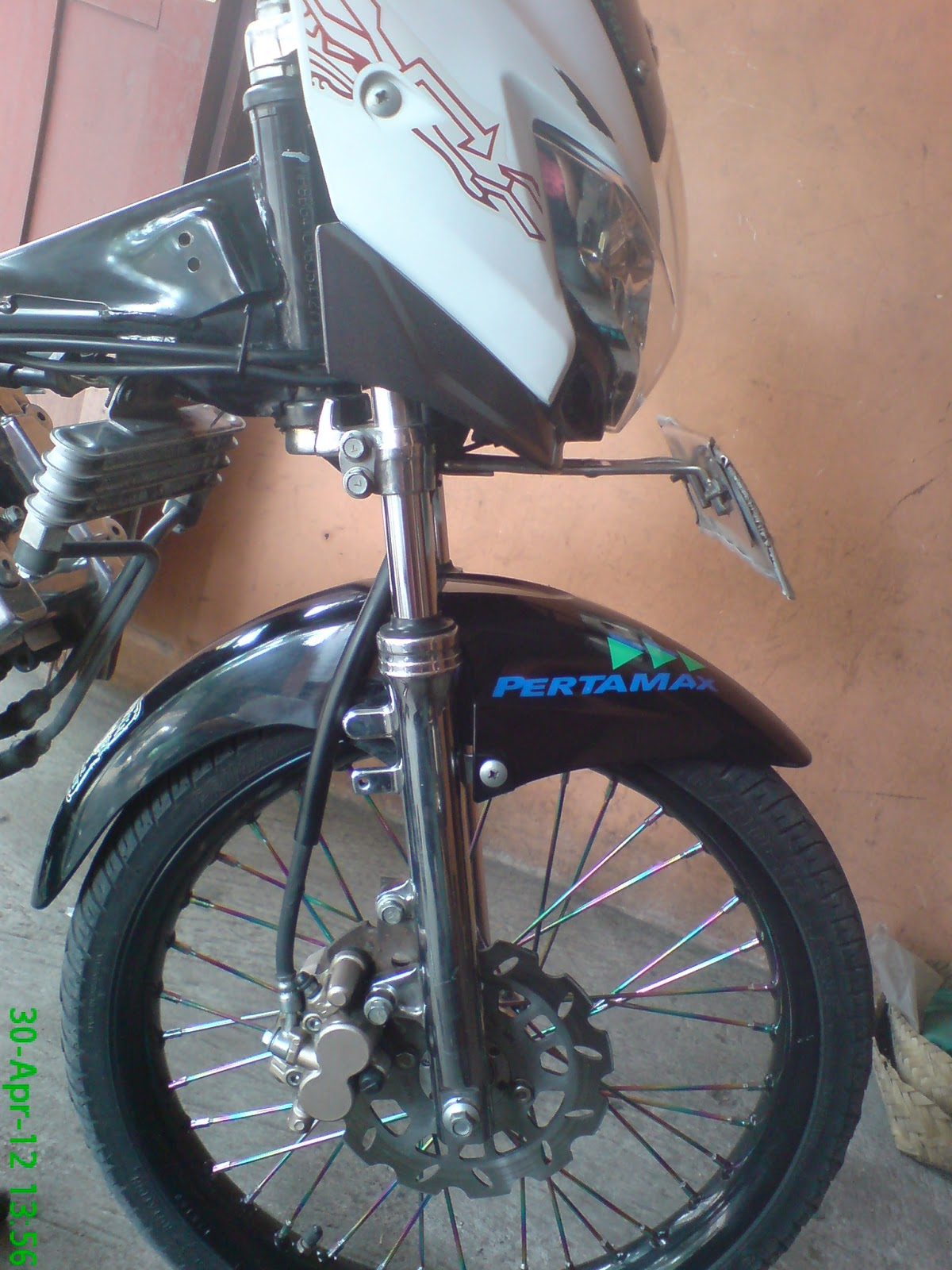 Satria FU dengan Tromol Trusty dan disc TDR ~ Variasi Sepeda Motor