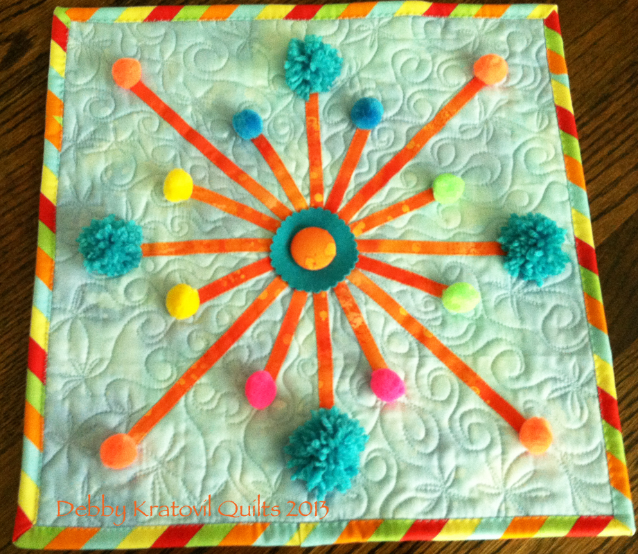 Debby kratovil quilts are you ready for some fireworks for Outer space quilt patterns