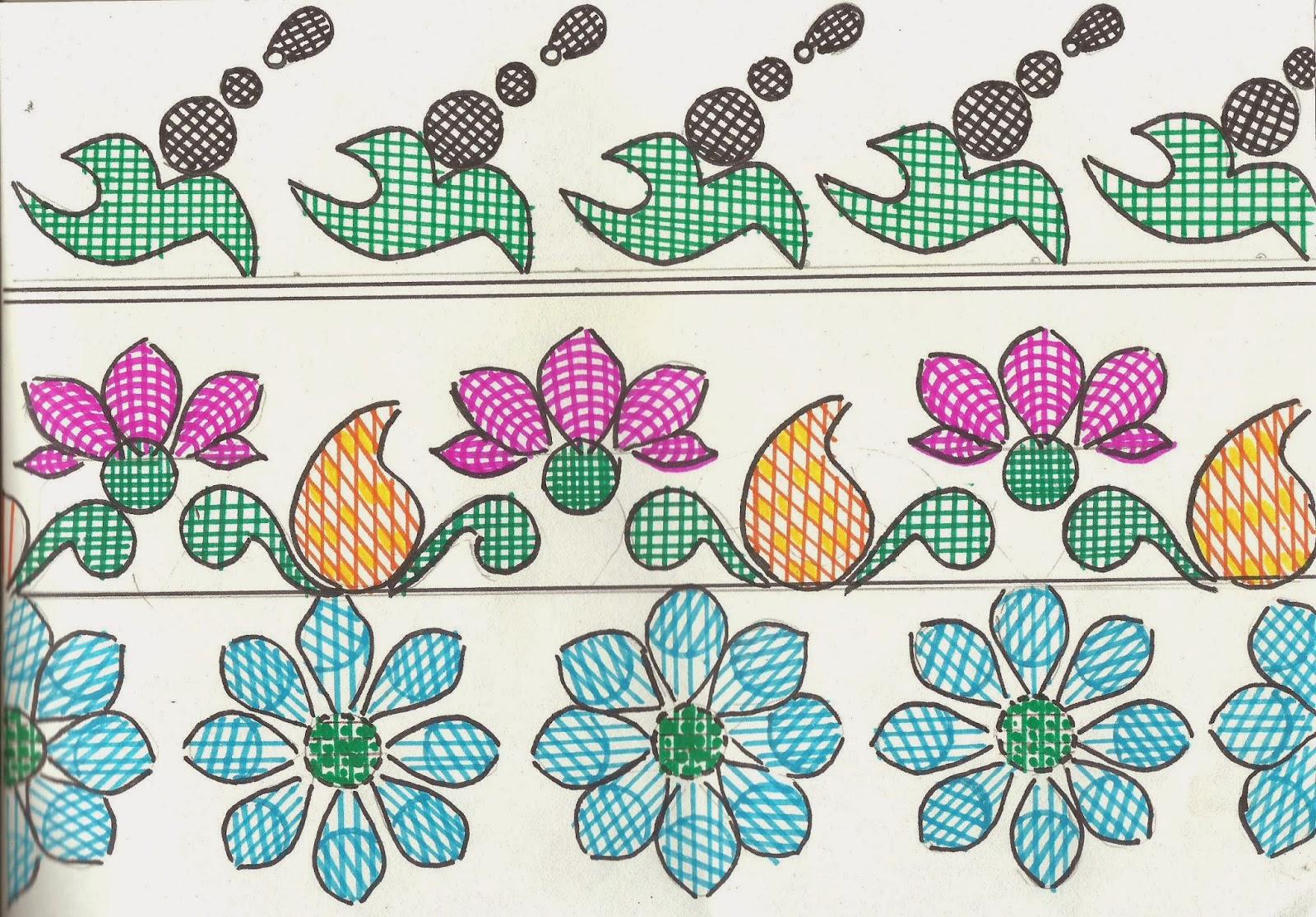 Special Border Design For Saree And Salwar Suit