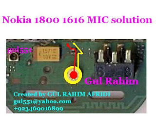 Mic Not Working 1800 Nokia