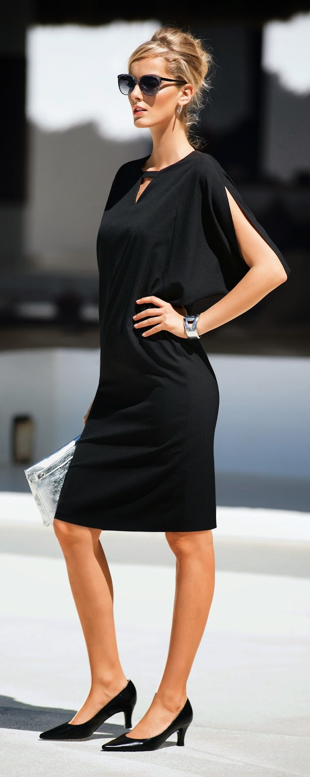 MADELEINE Black Dress
