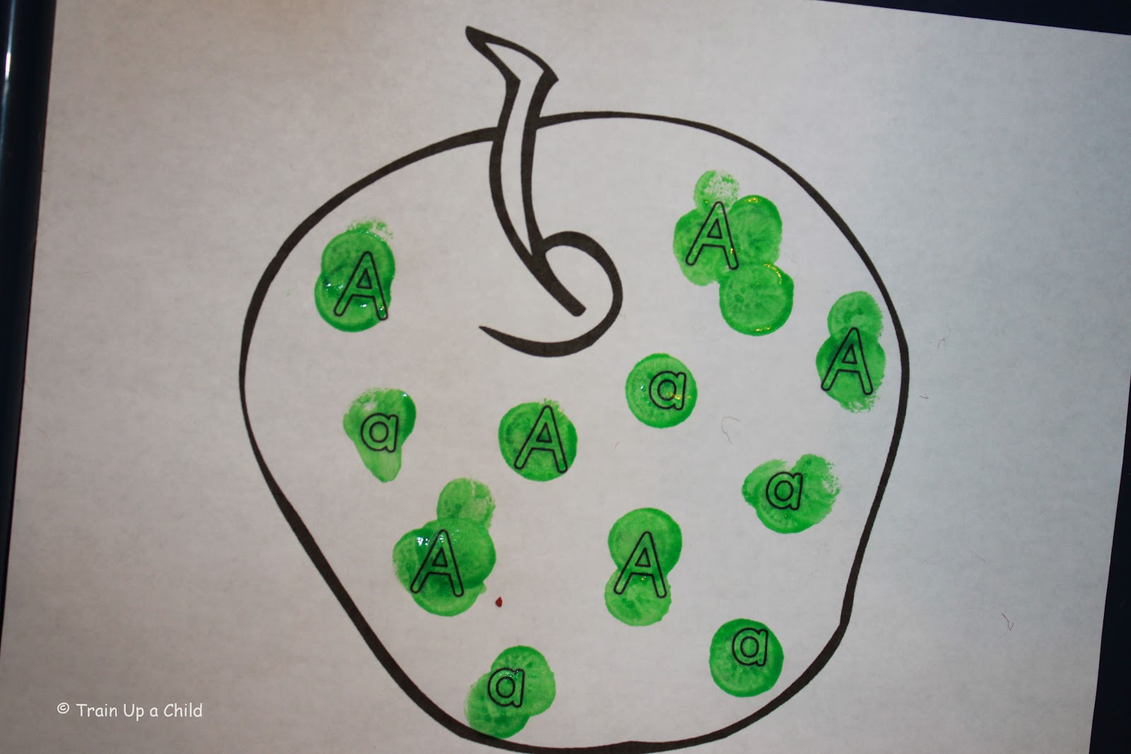 Green Color Crafts For Preschoolers: Around the color of week last ...
