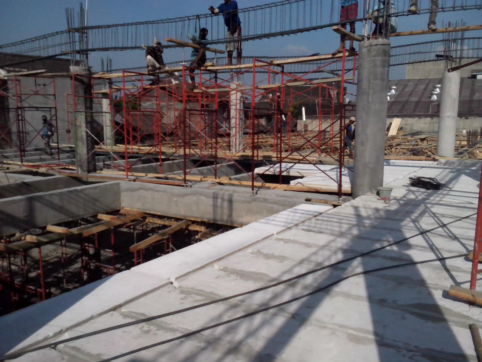 Panel Lantai Terpasang