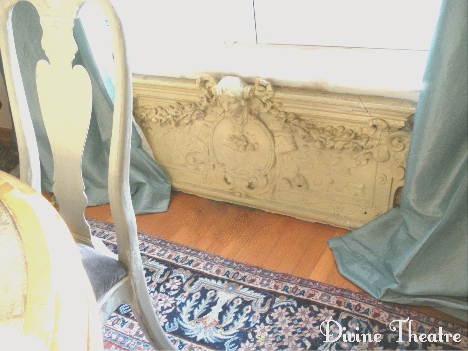 Divine Theatre: Gustavian Rococo Dining Chairs Before and After Tutorial