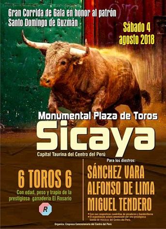 DISFRUTA DE SICAYA 2018!!