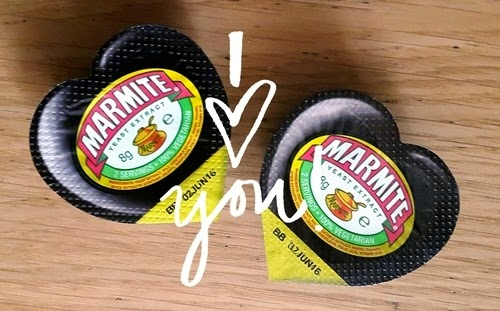 Whoopidooings: Rocking My World Friday - I Love Marmite