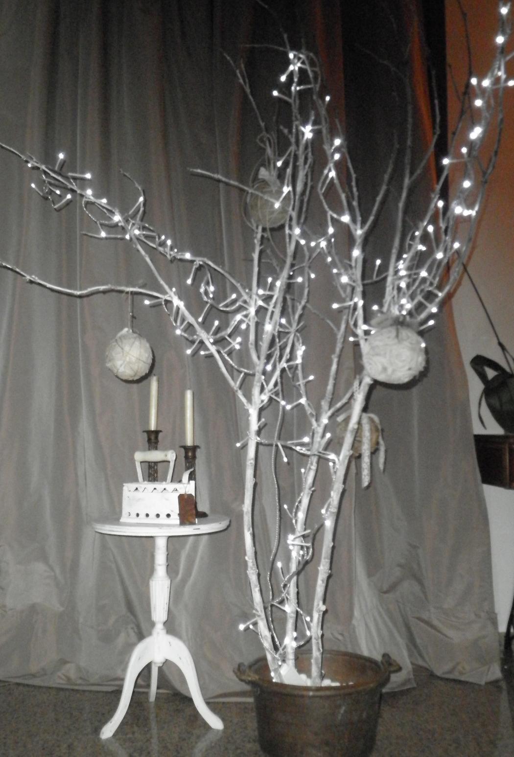 Magic bus bianco natale - Rami decorativi natalizi ...