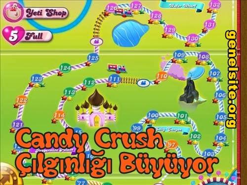 Bağımlılık yaratan oyun candy crash çılgınlığı büyüyor