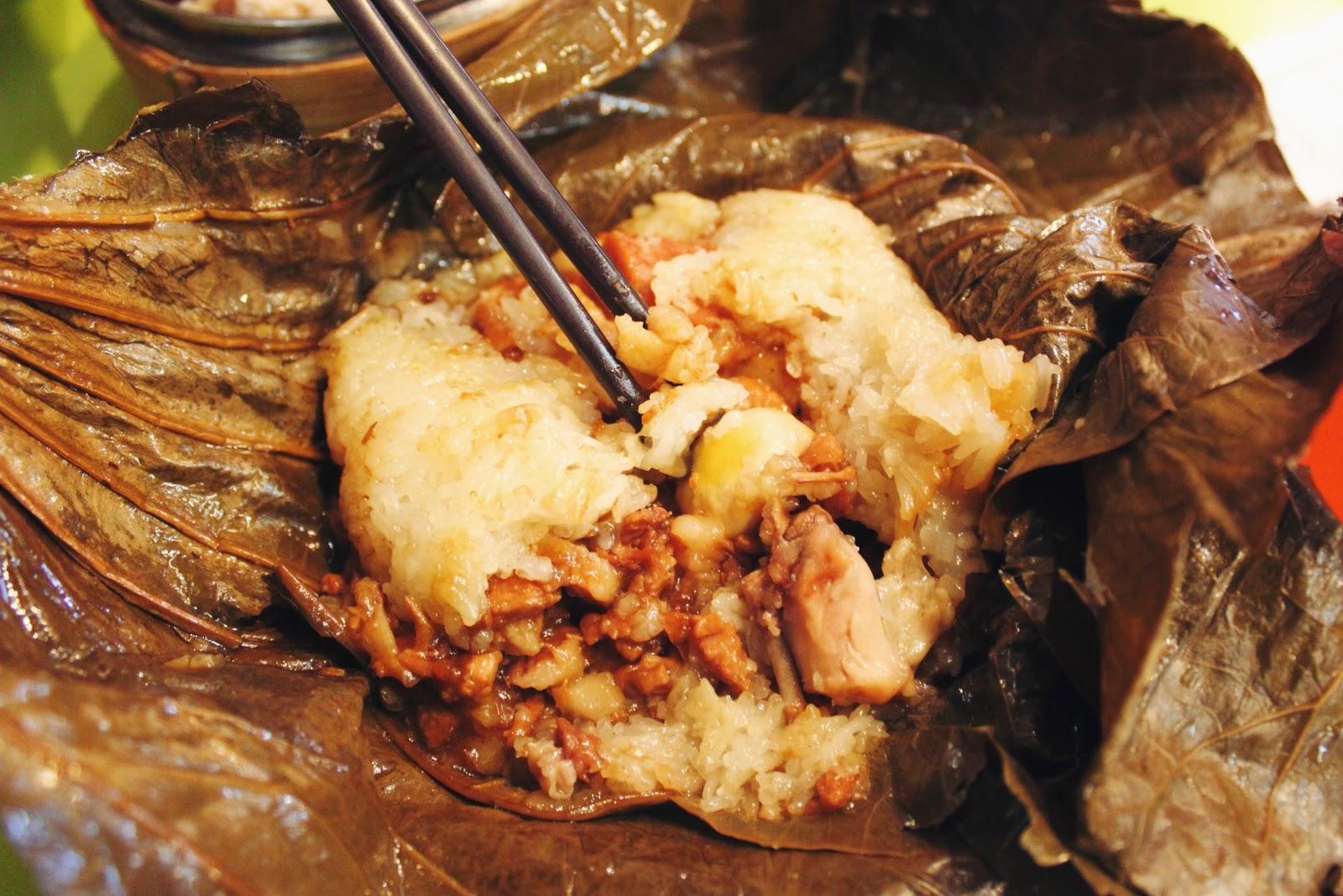 糯米雞, 富麗餐廳 Fu Li Restaurant @ 香港元朗 Yuen Long, Hong Kong