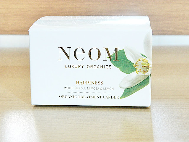neom happiness travel candle review