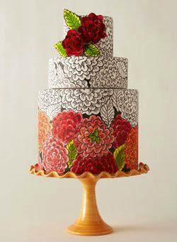 Cake Zentangle