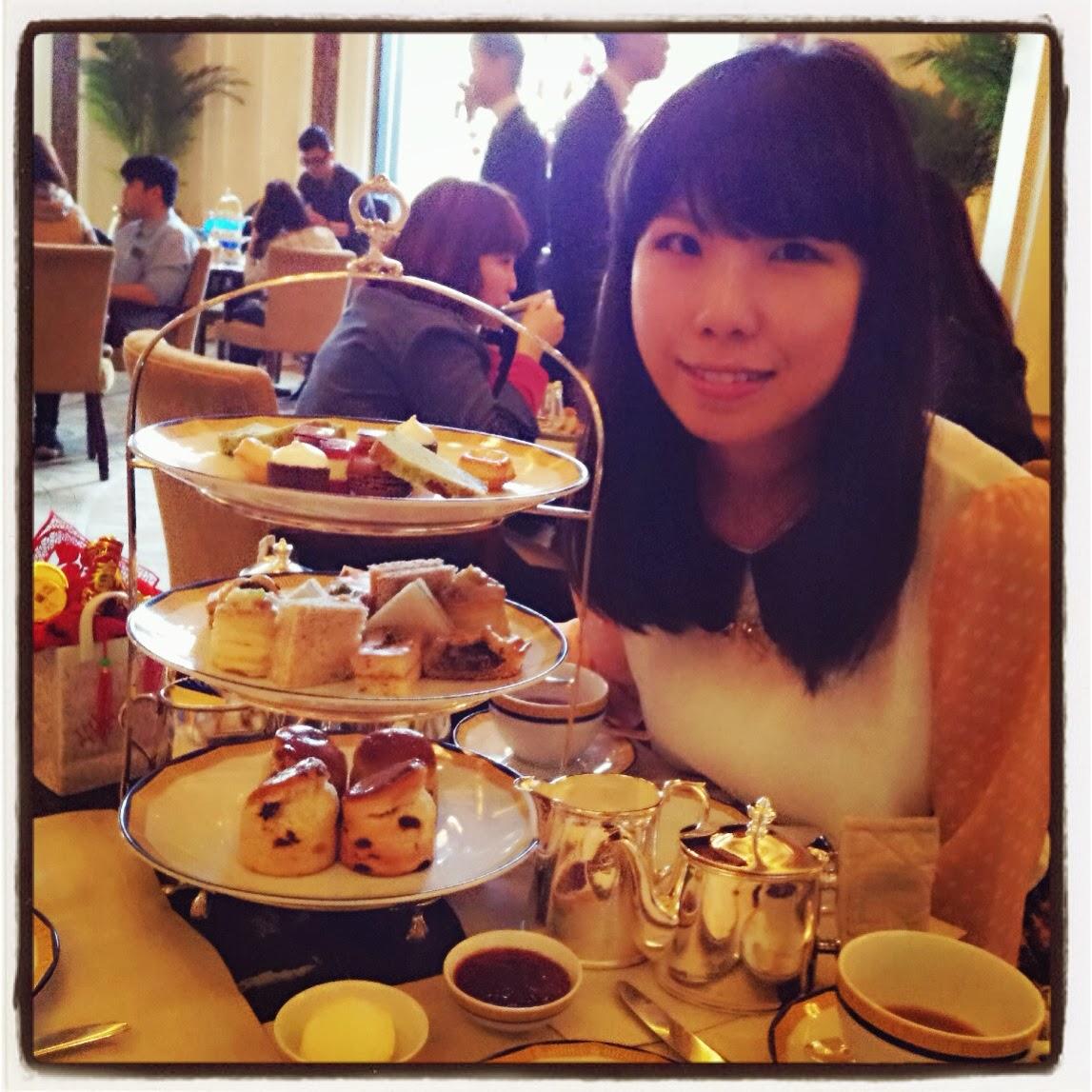 【Afternoon Tea分享】原來好普通*半島下午茶+嘆茶穿搭