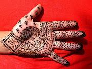 Cool henna tattoos on leg