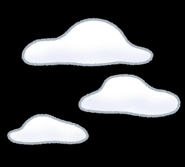 雲のイラスト: 無料イラスト ...