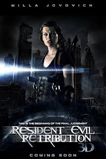 Resident evil Venganza. Retribution (2012)