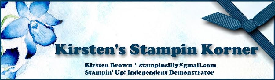Kirsten's Stampin Korner